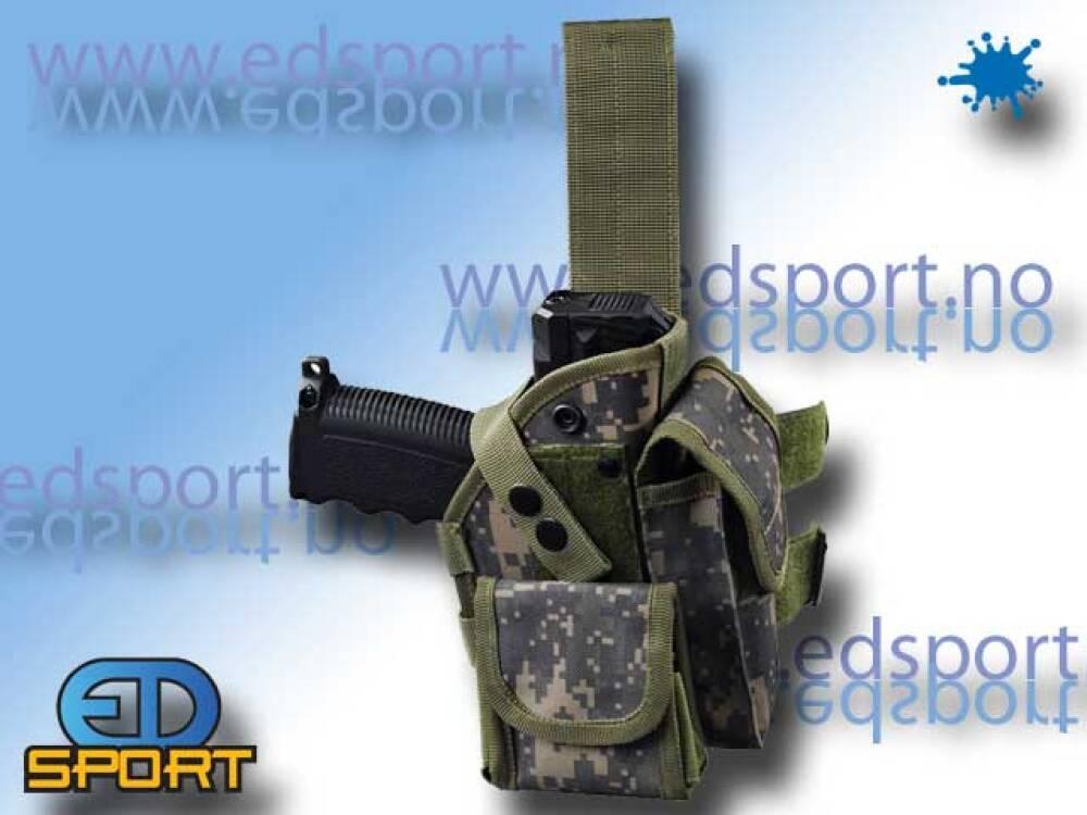 Hylster for Tippmann TiPX pistol, kamo