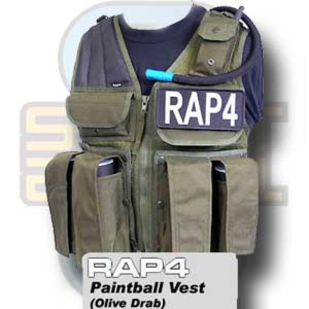 Paintballvest, RAP4, Olive