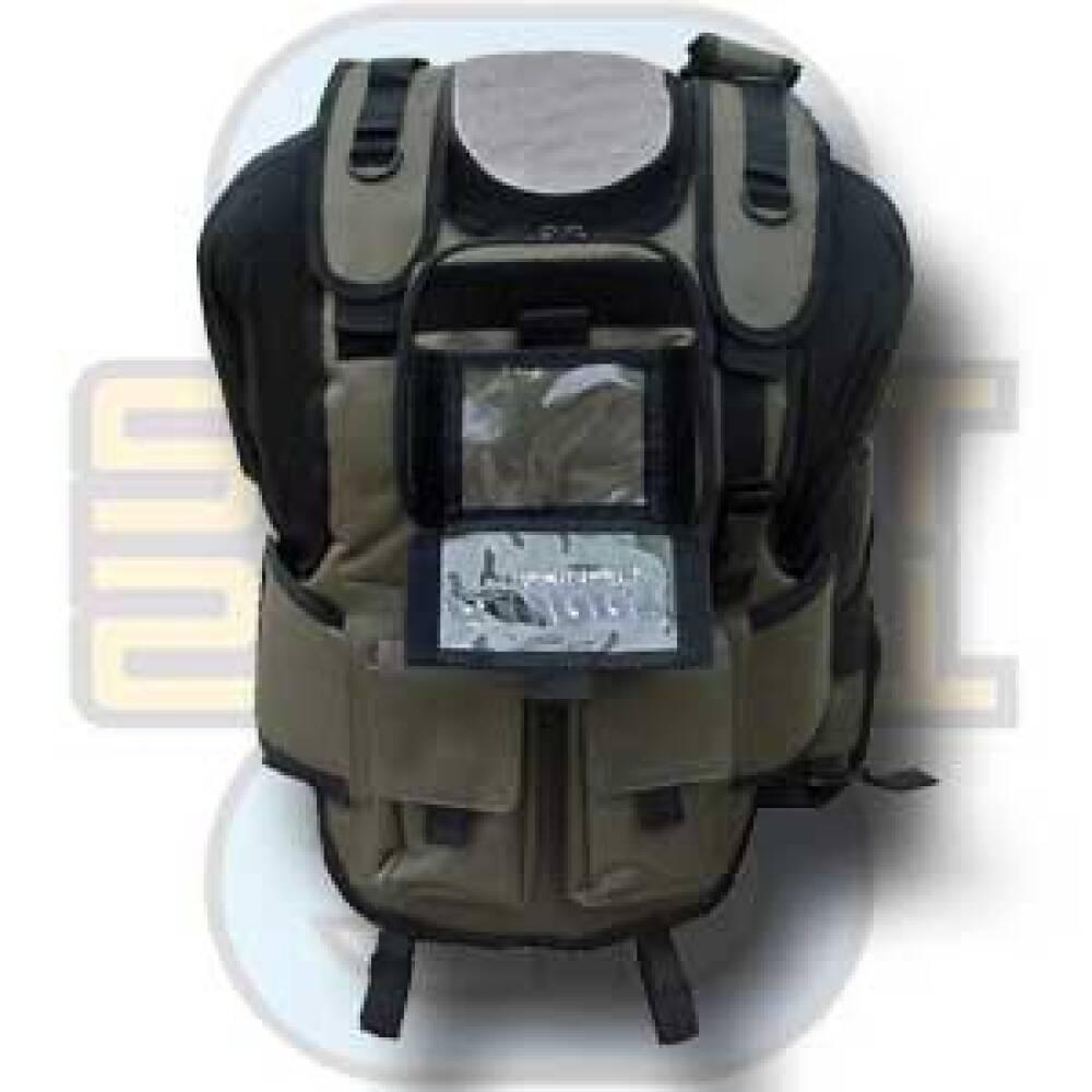 Flurry, Ultraback Emissary Paintball Vest - Hybrid