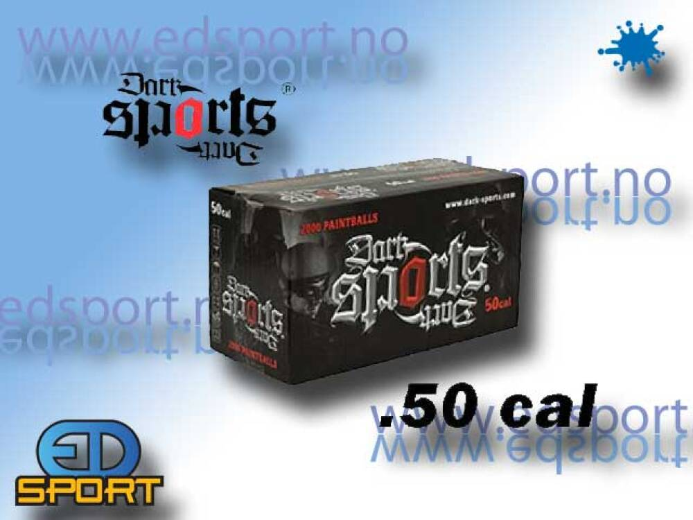 Paintball, .50 cal - 500 stk