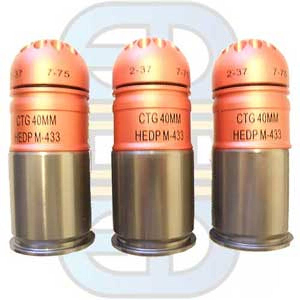 M48 Thunder Grenade 48 Paintball Pellets (Softgun)