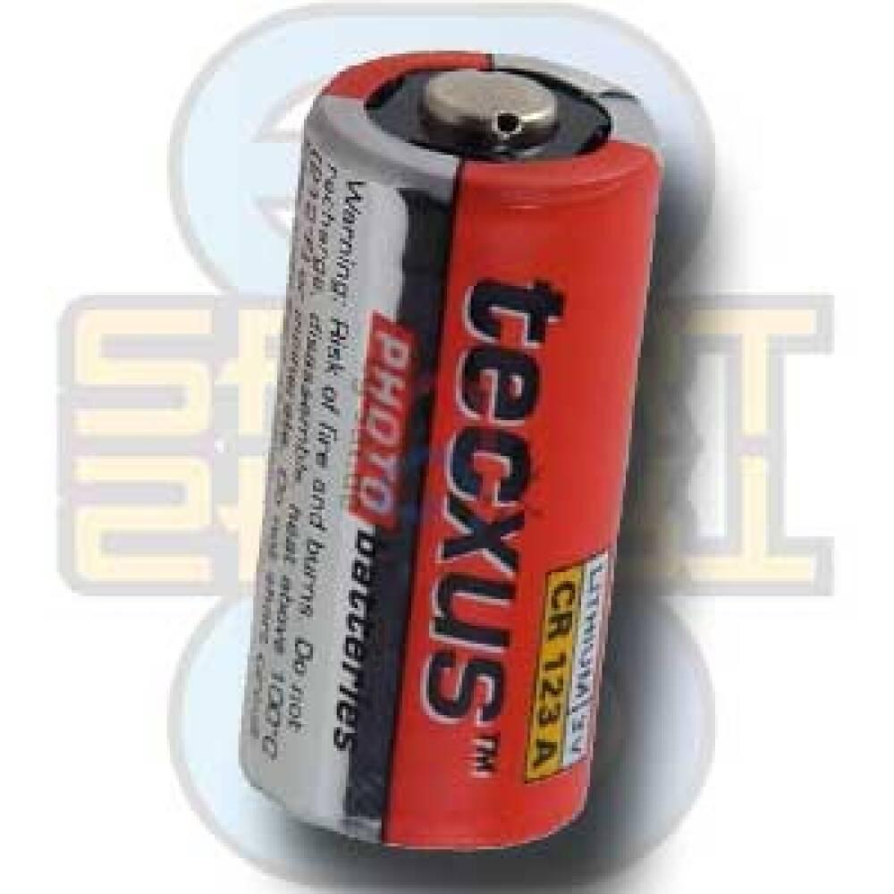 Batteri, CR 123