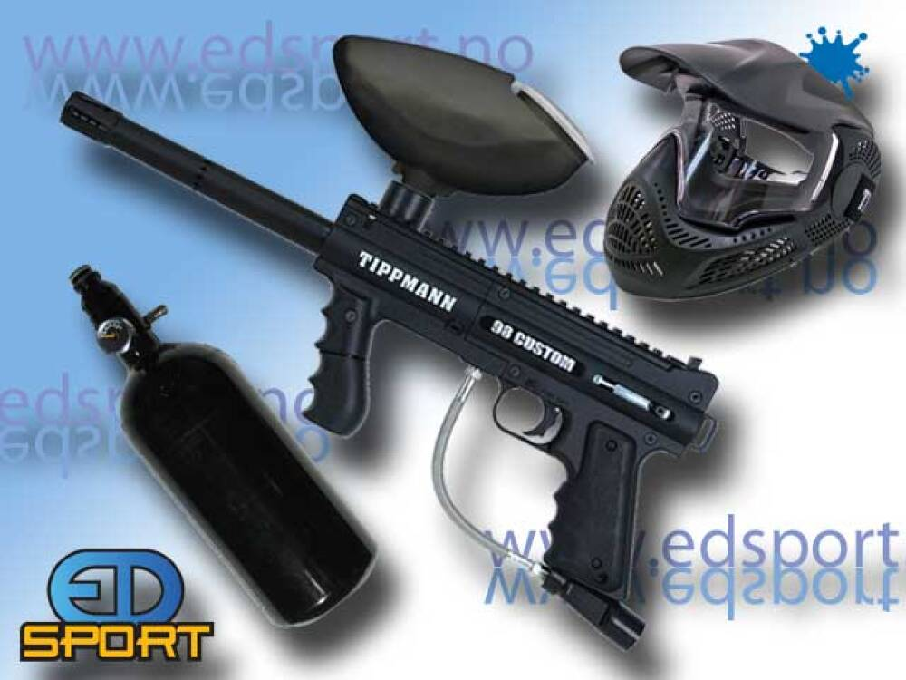 Tippmann Custom 98 PS, Power Pack