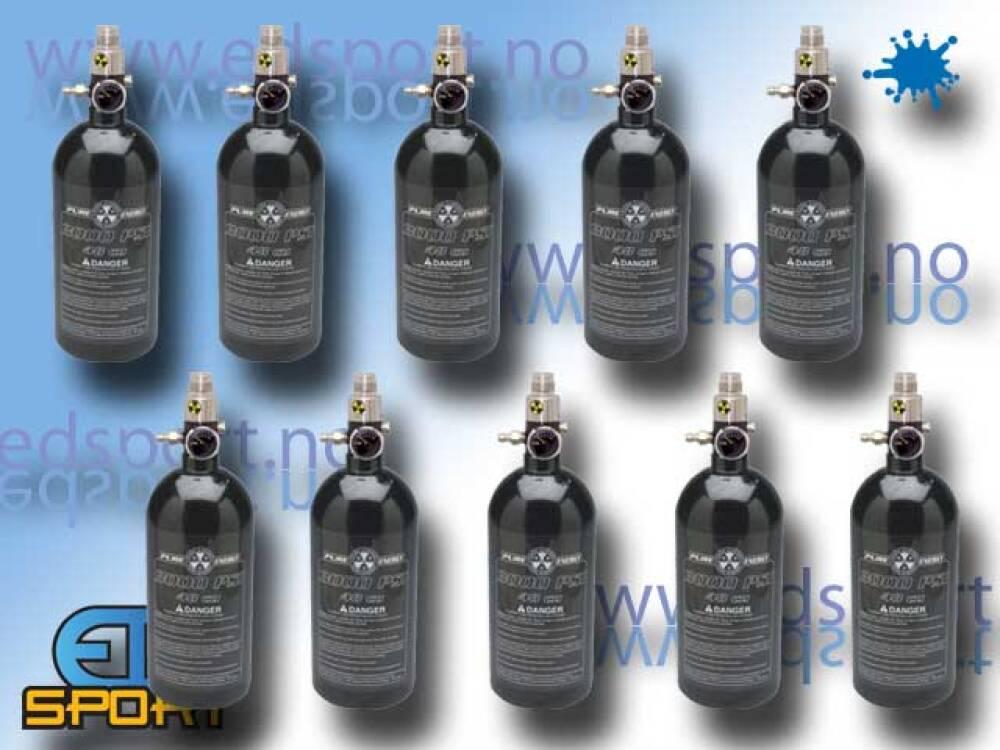Utleiepakke, Luftsystem, 200 bar / 0,8 liter, 10 p